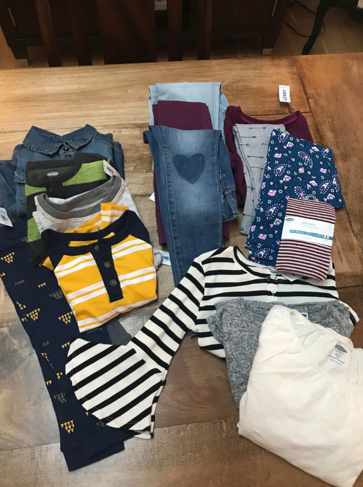old navy cloths